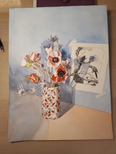 aquarelle 30 x 40 cm