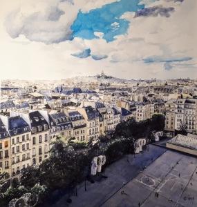 Montmartre, Basilique du Sacré Coeur, Paris