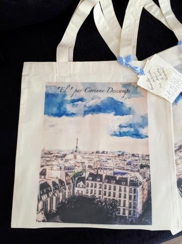 sac coton Tour Eiffel