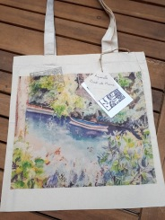 tote bag Bords de Marne face