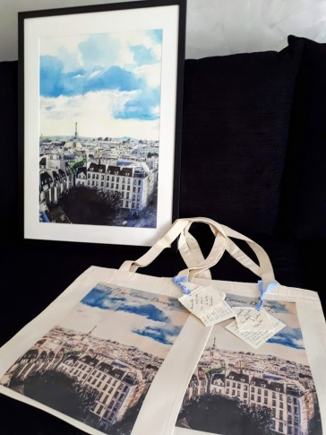 Tote bag Tour Eiffel
