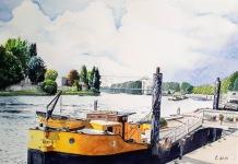 Quai d'Alfortville, bords de Seine