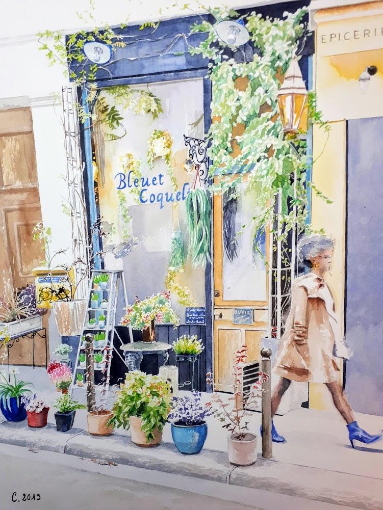 Bleuet Coquelicot Paris